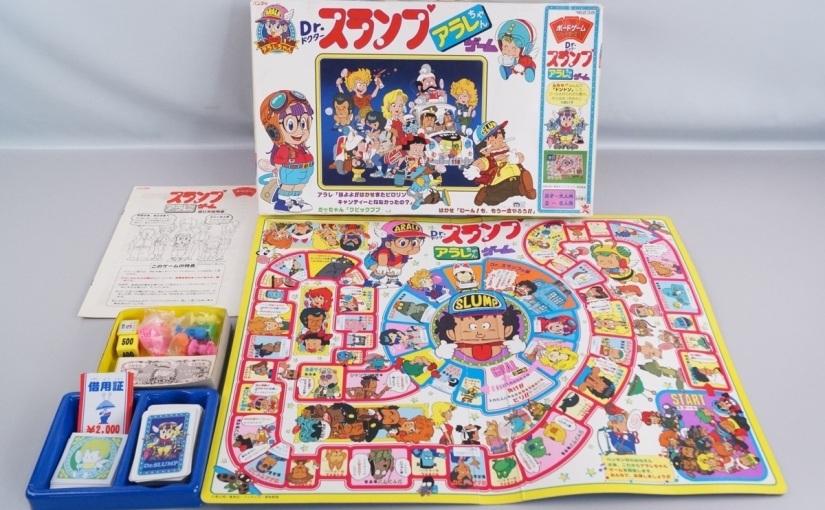 Les jeux de société adaptés de manga les plus populaires des années80